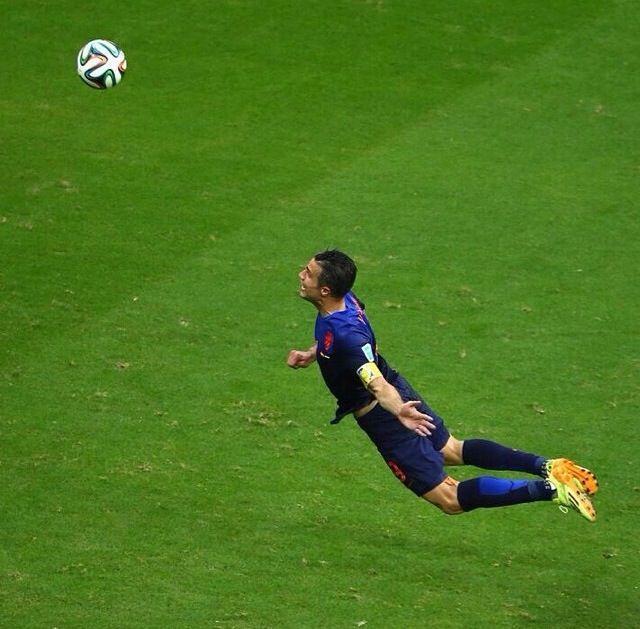 Robin van Persie. FIFA World Cup 2014