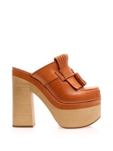 Tassel-front clogs | Rochas | MATCHESFASHION.COM