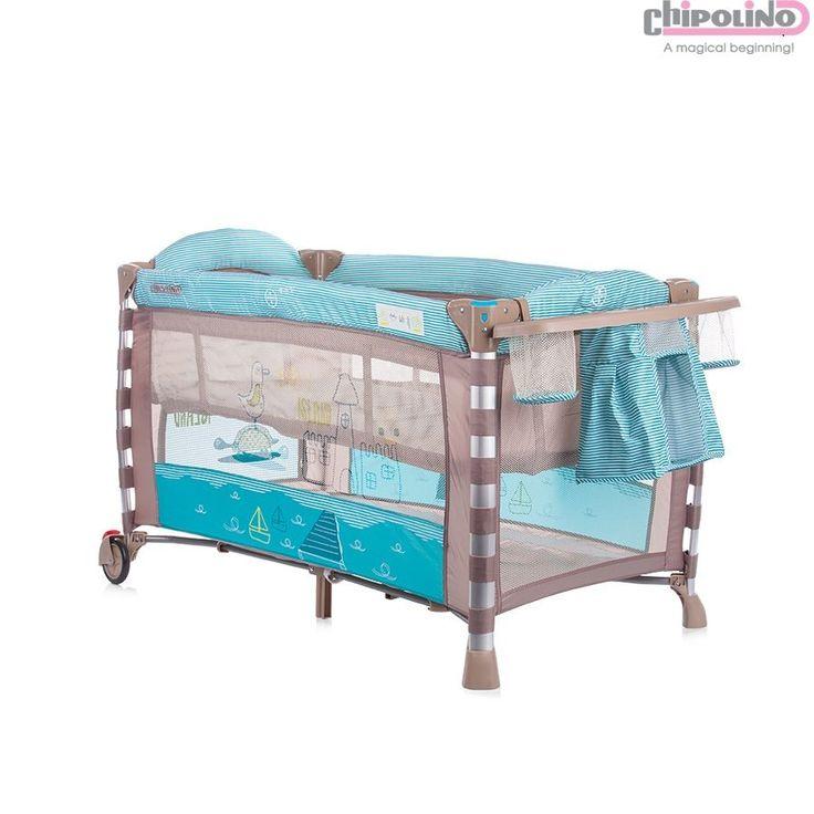 Chipolino Onda Turquoise Oyun Parkı #bebek #alışveriş #indirim #trendylodi #bebekodası #mobilya #dekorasyon #evdekorasyon #anne #baba