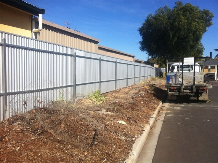 Installing post and rail fencing