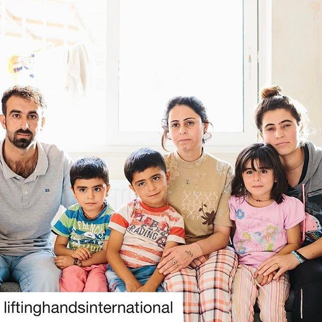 #Repost @liftinghandsinternational with @repostapp ・・・ The definition of sweetness. Humility. Affection. Pure love. This is one of the many Iraqi families we have the honor of serving in Greece. Their village was attacked by ISIS in August 2014, and they fled to the nearby mountains, where they suffered from extreme thirst and hunger for days before the airdrops came. Like so many Yazidis, they lost family members. Be still our hearts. We love them so much! We love them all. Photo cred…