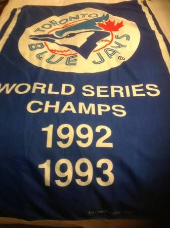 WORLD SERIES CHAMPS - 92-93