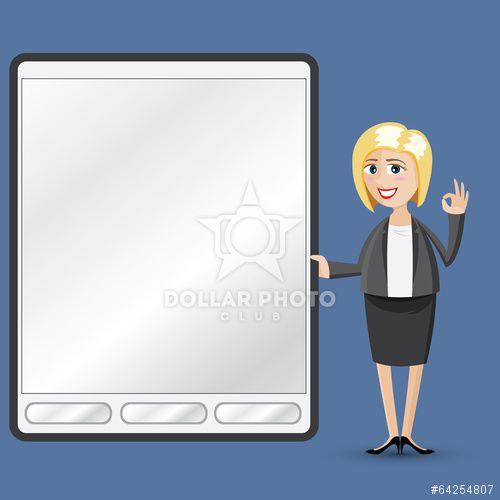 https://cz.dollarphotoclub.com/stock-photo/cartoon businesswoman with tablet/64254807 Dollar Photo Club miliony kvalitních obrázků za 1$ za každý