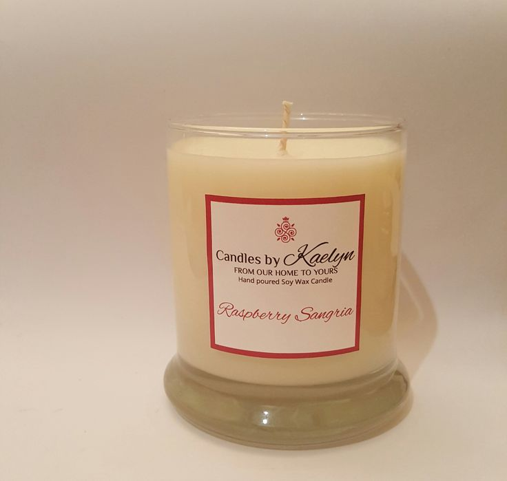 Raspberry Sangria Soy Wax Candle