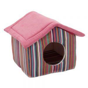 Niche Funny Stripes pour chat et petit chien