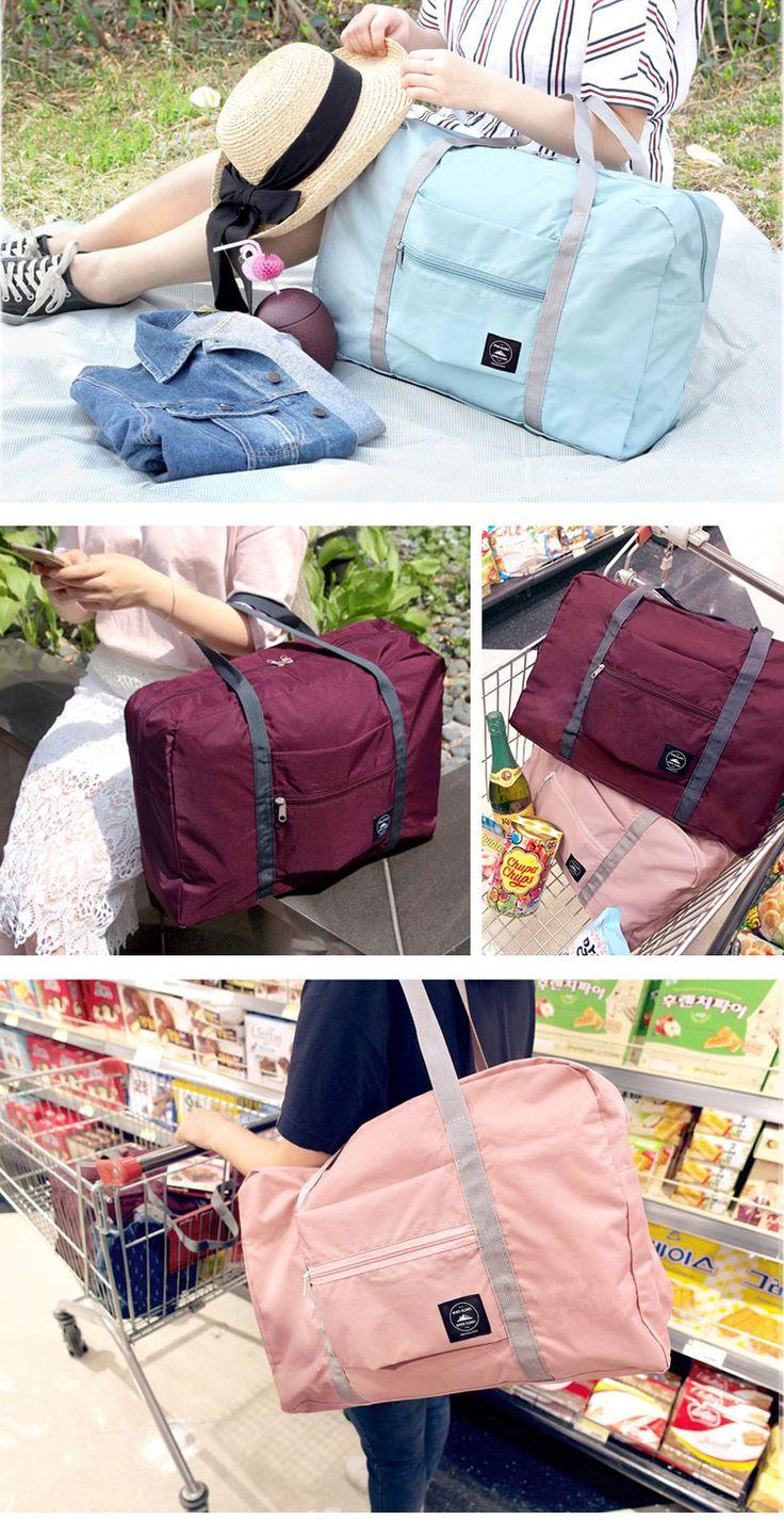 Large Travel Bag Waterproof Storage Bag Luggage Folding Handbag Shoulder Bag Storage Containers Cheap - NewChic Mobile.