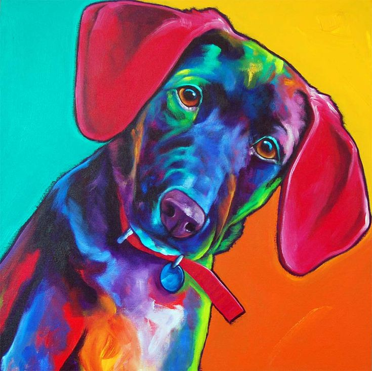 100 best dog images on Pinterest | Dog paintings, Animals and Dog art