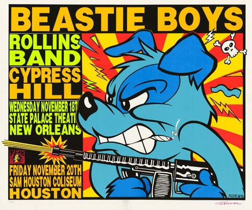 From the Houston Press, a very good article about the memories The BBoys left Houston with.  I am happy to learn they ate at Mai's at one point during their stay :):  RIP Adam Yauch: Beastie Boys' MCA Dead at 47 - Rocks Off