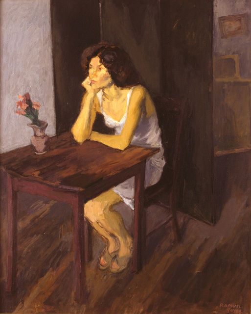 untitled picture by Raphael Soyer (paperimages)