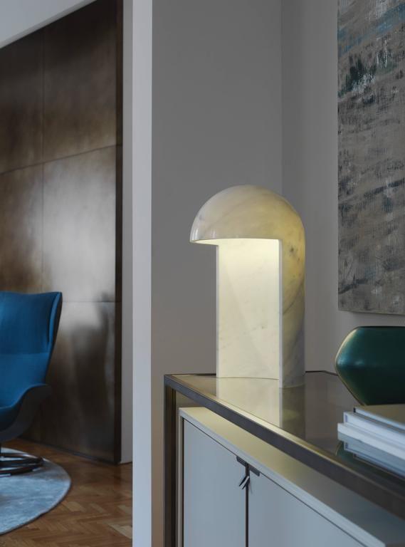 Fontana Arte Table Lamp – Milano 2015 Marble Carlo Colombo Italian Carrara Marble