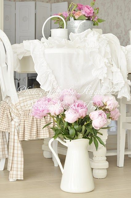 505 best decor shabby chic inspirations images on pinterest home shabby - Papier peint shabby chic ...