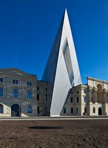 Military History Museum Dresden. Credit: Ulrich Rossmann/Arup.