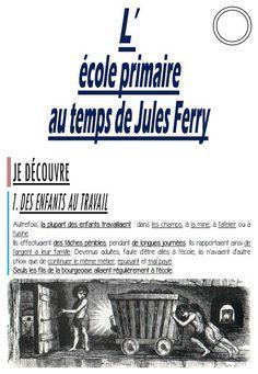 L'école primaire au temps de Jules Ferry