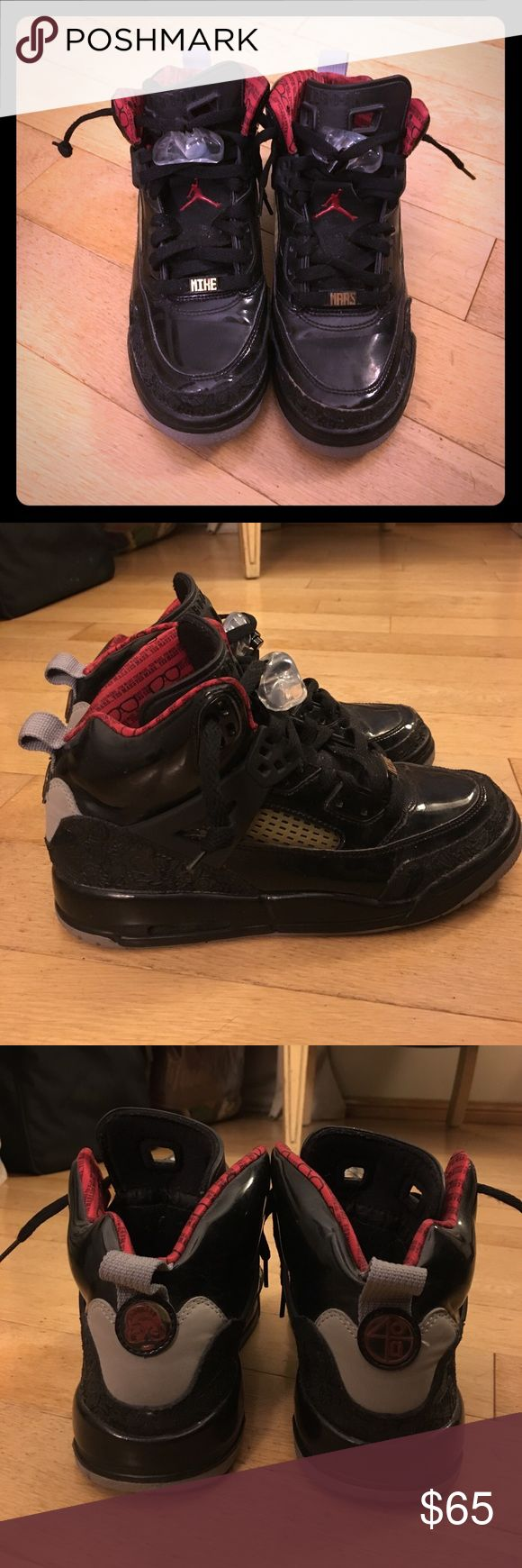 Jordan Spizike Yes Mars Sneakers Worn a few times, in great preowned condition! Could fit a women's size 7.5. (I'm a size 8 and they are snug on me) Jordan Shoes Sneakers