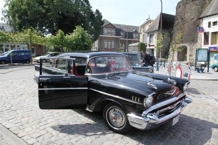 """Pour ce mardi, """"Darling"""", la Chevrolet Bel-Air 1957 de David S."""