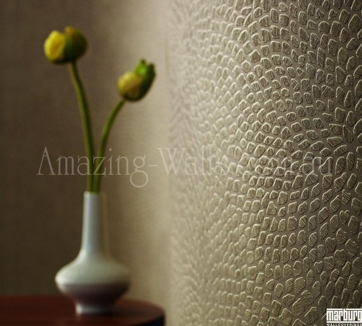 Amazing Walls-$159-soft brown matt with gold-brown metalic overlay