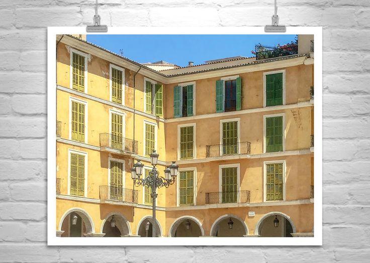 European Architecture, Palma, Majorca, Spain, Architecture Art, Travel Photography, Mallorca, Mediterranean Sea, Fine Art Print by MurrayBolesta on Etsy