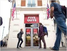 US chains biting into London's burger scene