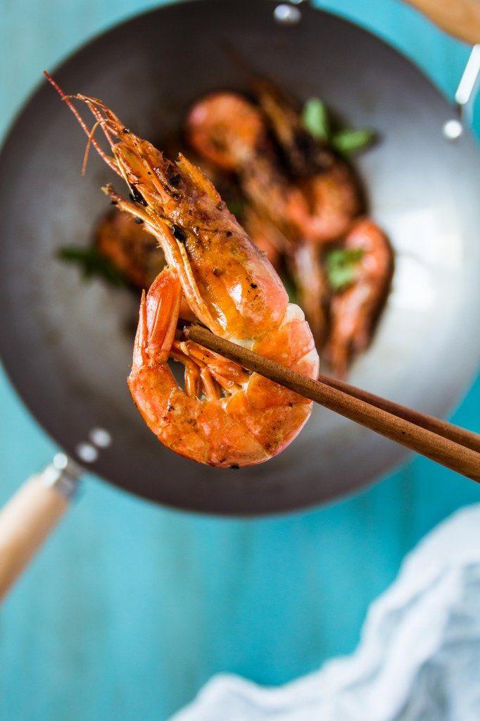 langostinos-con-wasabi, wasabi prawns, recipe, food photography, food stylist, receta, cocina, wok de langostinos, wok ken hom