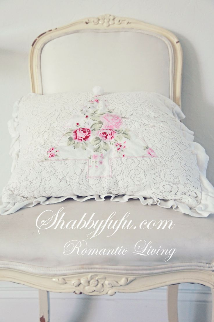 Shabby Chic Pink Pillow Shams : 1656 best images about shabby chic on Pinterest Shabby chic bedrooms, Shabby chic christmas ...