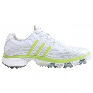 SALE - Adidas Powerband Football Cleats Womens White Leather - Was $100.00 - SAVE $75.00. BUY Now - ONLY $24.99