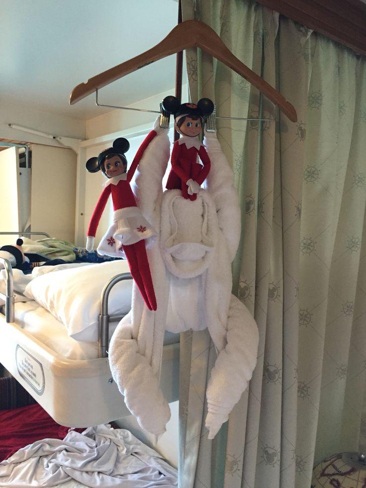 Elf On The Shelf Monkeying Around Disney Cruise Mickey