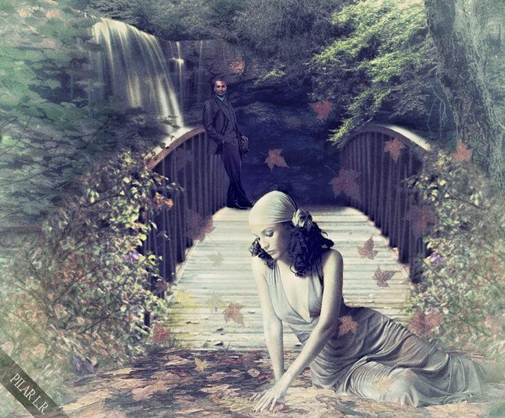 dama del bosque
