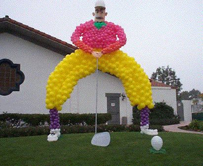 Balloon Decoration Ideas   ... One Stop For Special Event Balloon Decorating  Ideas And