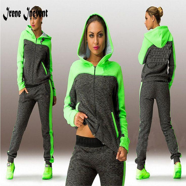 Women 2 Pieces women Suit Hoodie Tracksuit Women women Suit Hoodie Sweatshirt+Pant new Femme Marque Survetement Sportswear