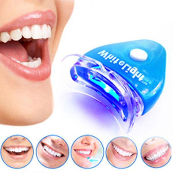 Răng Làm Trắng Răng Ánh Sáng LED Tẩy Trắng Răng Trắng Răng Máy Laser Nha Khoa Công Cụ Chăm Sóc Chăm Sóc Răng Miệng Gel Kem Đánh Răng Kit
