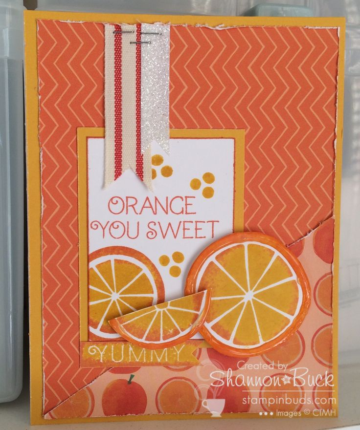 Taste of Summer CTMH - Papers and Stamp set are only available May 2015 - www.stampinbuds.com