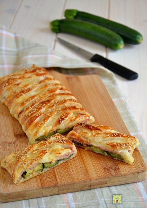 strudel di zucchine e prosciutto cotto gp