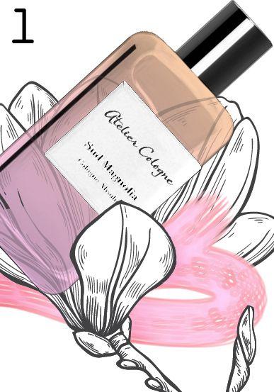 """MAGNOLIA MANIA: """"Sud Magnolia"""" by Atelier Cologne, 2015. Perfumer: Jerome Epinette"""