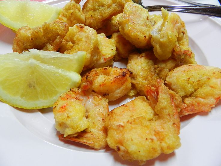 Code di gamberi fritte #shrimp #fried #sardegna #sardinia #recipe
