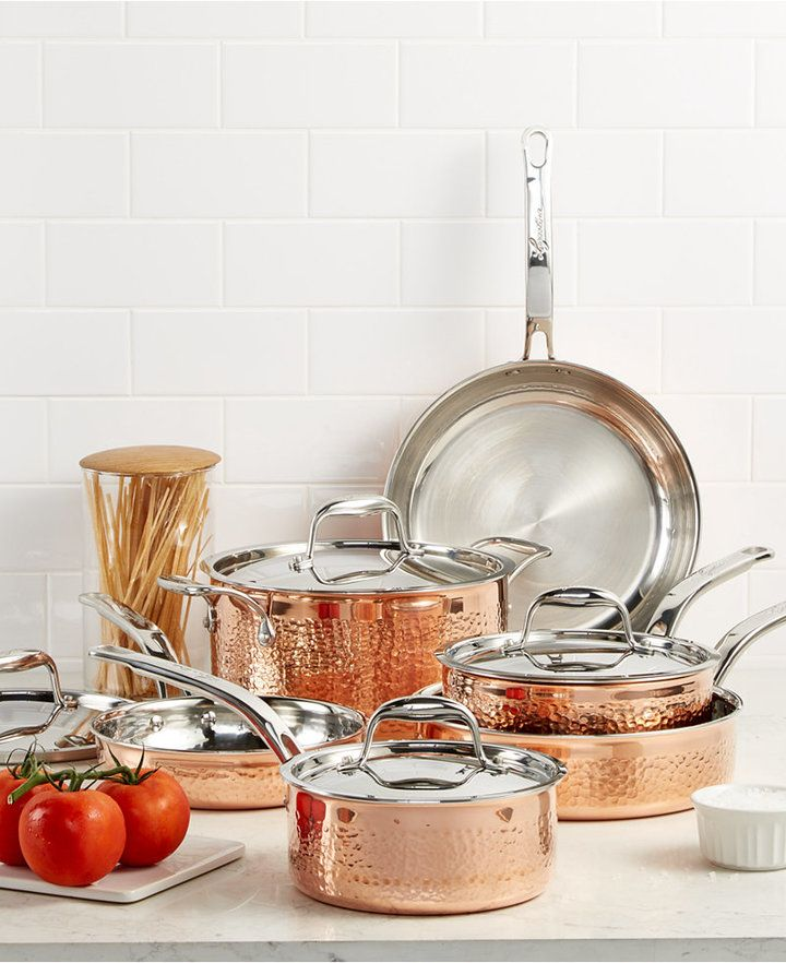 Macy S Weddings Registry We Have All The Best Brands And Products That You And Your Groom Will Love Don T Forg Lagostina Cookware Set Kitchen Measurements