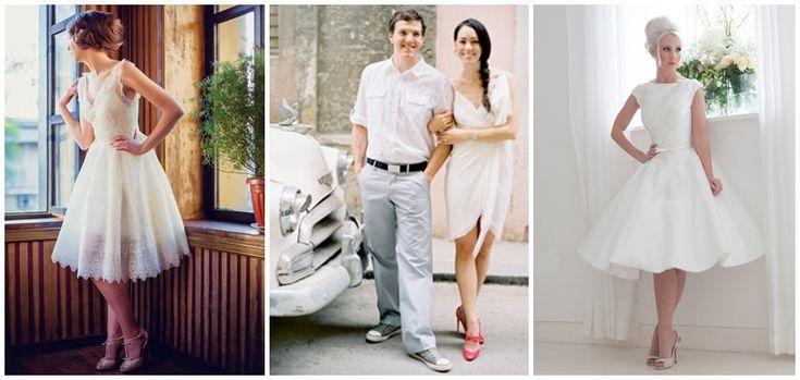 Casar-se no civil é uma forma mais simples de oficializar sua união. Portanto, pede um visual mais discreto. Mas, mesmo assim, você não precisa deixar de lado seu sonho de se casar de branco.