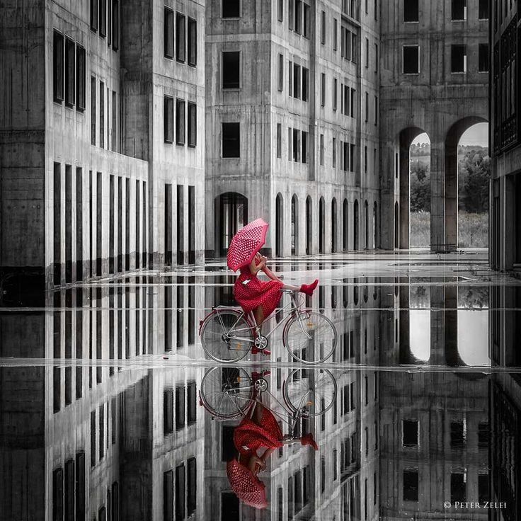 Surreal and Fine Art Portrait Photography by Peter Zelei #inspiration #photography
