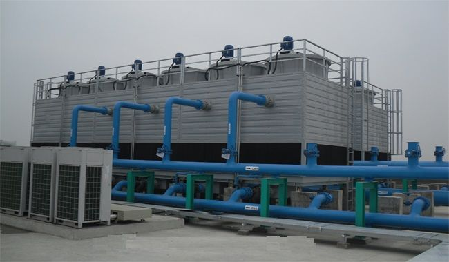 Induced Draft Cooling Tower Frp Induced Draft System Tower