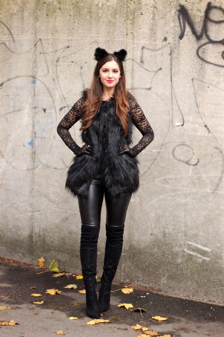 1000 ideas about diy cat costume on pinterest black cat. Black Bedroom Furniture Sets. Home Design Ideas