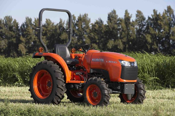 Kubota Tractors.