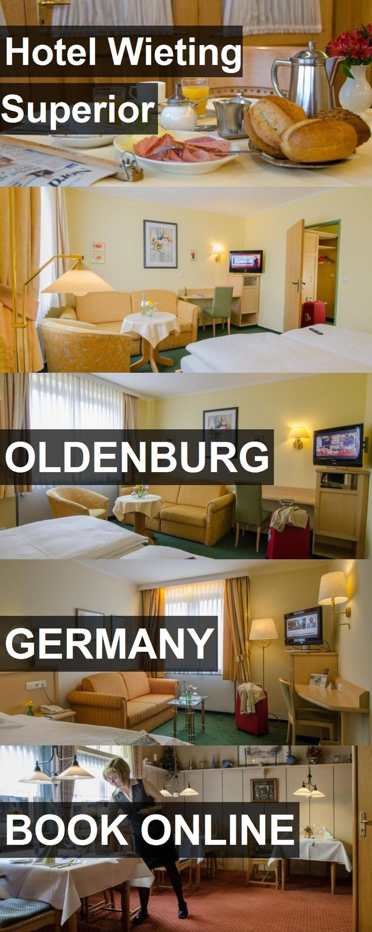 Hotel Wieting Superior in Oldenburg, Germany. For more information, photos, reviews and best prices please follow the link. #Germany #Oldenburg #travel #vacation #hotel