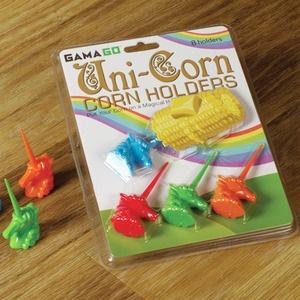 """Uni""""corn"""" Holders: Uni Corn Corn, Stuff, Gift Ideas, Unicorn Corn, Kitchen, Corn Holders, Gama Go Unicorn, Unicorns"""