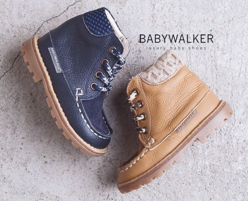 Winter 2015/16 booties by BABYWALKER FW2015/16