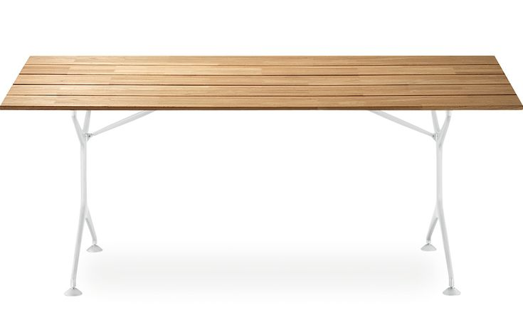 Teak Table 200F by Alberto Meda for Alias