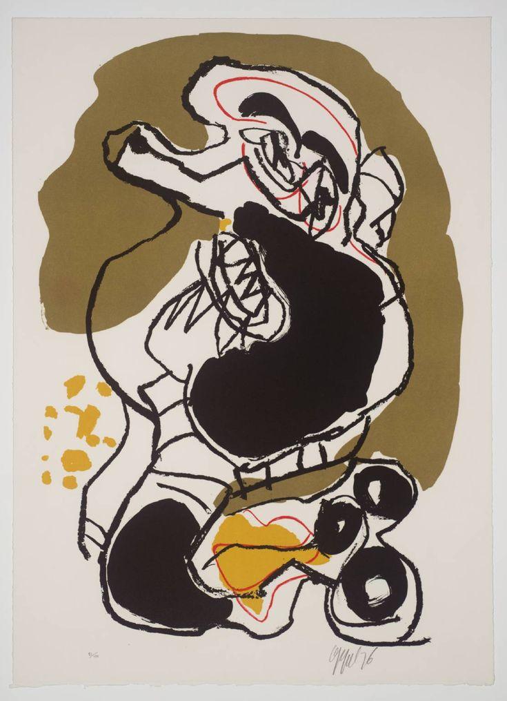 Karel Appel [no title] 1975-6