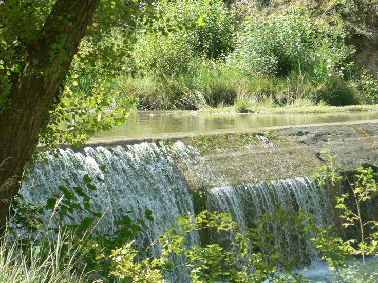 La rivière le Roubion à Pont de Barret