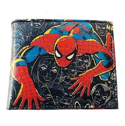Spider-Man Wallet - Bi-fold, Marvel Comics Close Up Collection