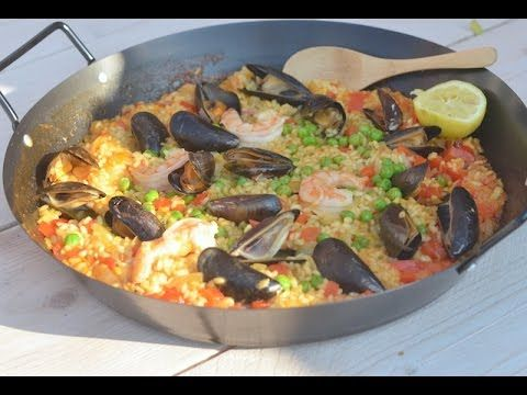 Recept Paëlla - YouTube