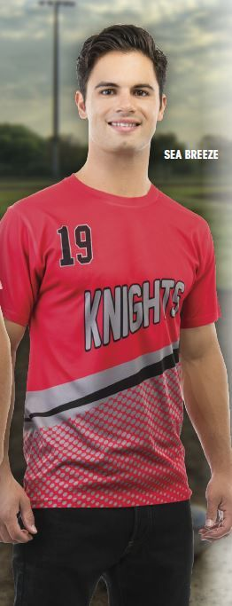 Custom sublimation Tees | Team uniforms and campwear