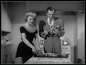 Van Heflin and Evelyn Keyes in The Prowler (1951)